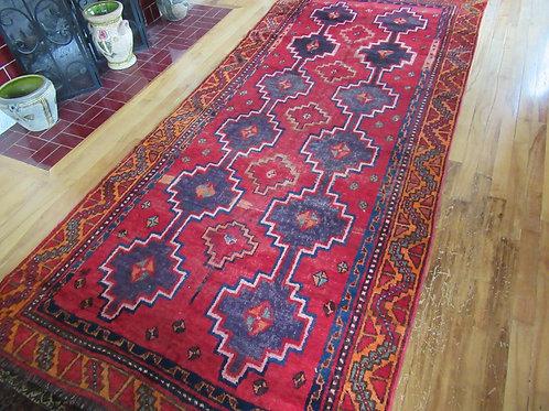 4.5 x 9.5 Hand Tied Persian Yalameh Rug