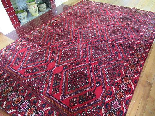 7 x 10 Hand Tied Persian Afshar Rug