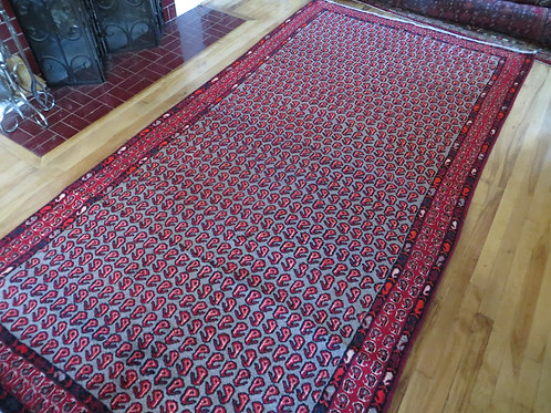 5 x 10 Hand Knotted Persia Meshkin Rug