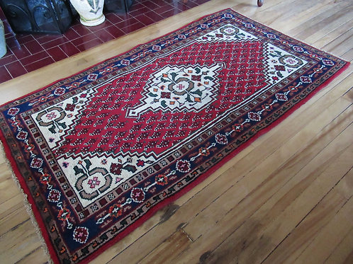 3 x 5 Hand Tied Persian Zanjan Rug