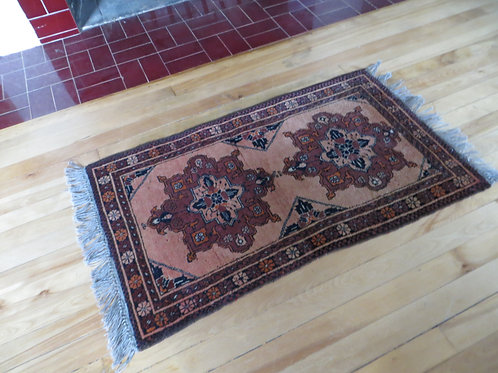 2 x 3 Hand Tied Afghanistan Rug