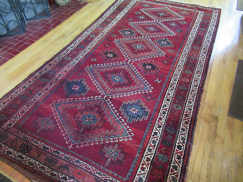 5 x 9.5 Hand Tied Persian Afshar Rug
