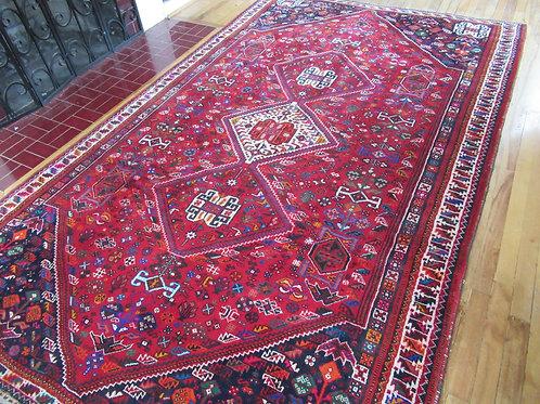 6 x 10 Hand Tied Persian Qashqai Rug
