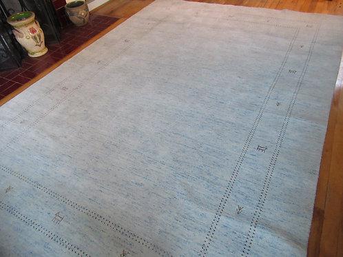 6 x 9 Hand Tied Persian Gabbeh Rug
