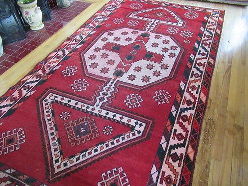 5 x 9 Hand Tied Caucasian Kazak Rug