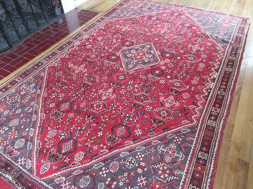 6 x 9.5 Hand Tied Persian Qashqai Rug