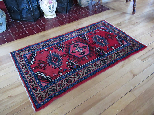 2 x 4 Hand Tied Persian Viss Rug