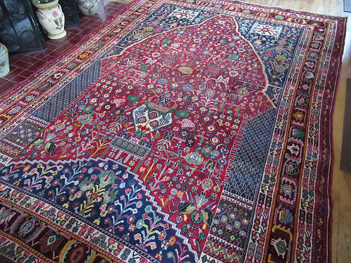 7 x 10 Hand Tied Persian Abadeh Rug