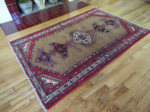 3.5 x 5.5 Hand Tied Persian Serab Rug