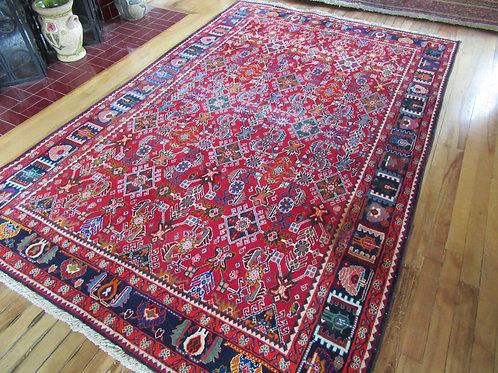 5 x 8 Hand Tied Persian Afshar Rug