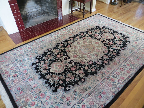 6 x 9 Had Knotted India Rug