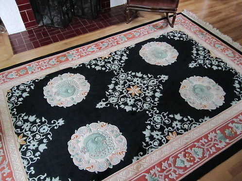 6 x 9 Hand Knotted Chinese Rug