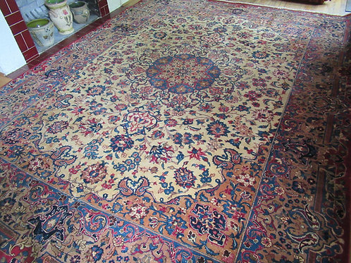 8 x 11 Hand Knotted Persian Najafabad Rug