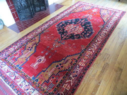 5 x 10 Hand Tied Persian Shahsaven Rug