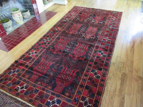 4.5 x 9 Hand Tied Persian Sistan Rug
