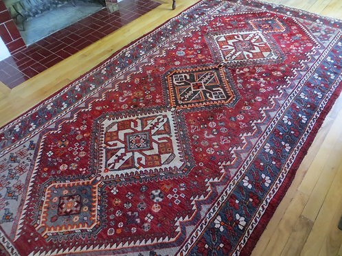 5 x 10 Hand Tied Persian Abadeh Rug