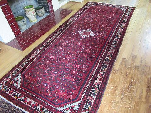 4 x 10 Hand Tied Persian Hamadan Rug