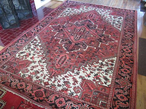 7 x 9.5 Hand Tied Persian Gorevan Rug