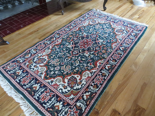 3 x 5 Hand Knotted Persian Tabriz Rug