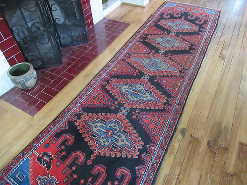 3 x 10 Hand Tied Persian Viss Rug