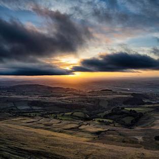 Hay Bluff Sunset