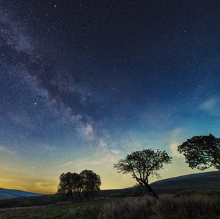 First shot of the Milky Way