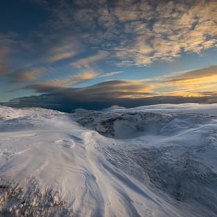 White on the Black Mountains