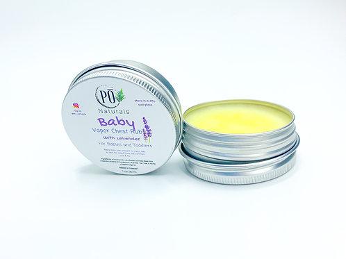 Baby Lavender Chest Rub