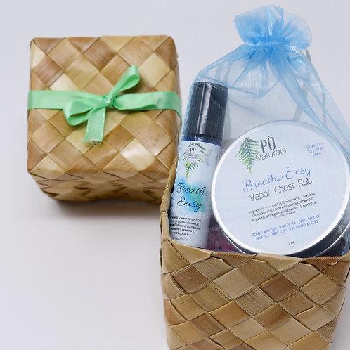 Breathe Easy Gift Basket