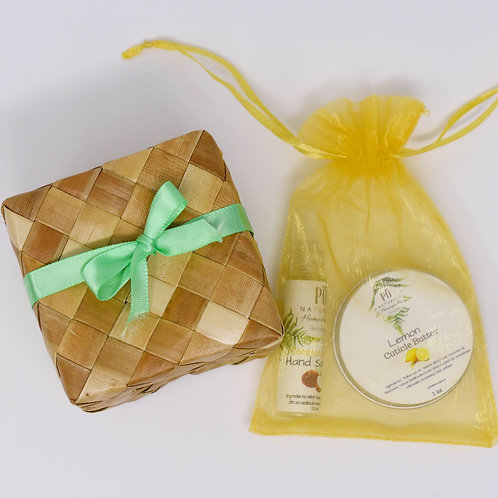 Healing Hands Gift Basket