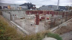 betong av monolitiske armerte betongkons