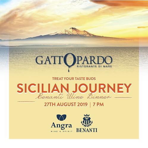 Benanti Wine Dinner - Sicilian Journey