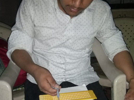 Braille Slate (Completed): Resolved Issues