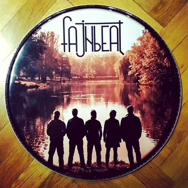 Fajnbeat kickhead, #drums #drumhead #cus