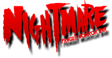 Nightmare horror bar logo