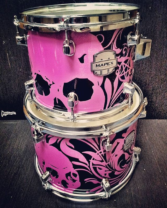 NEW MAPEX VOAYER BLACK WITH OUR SKULL DE
