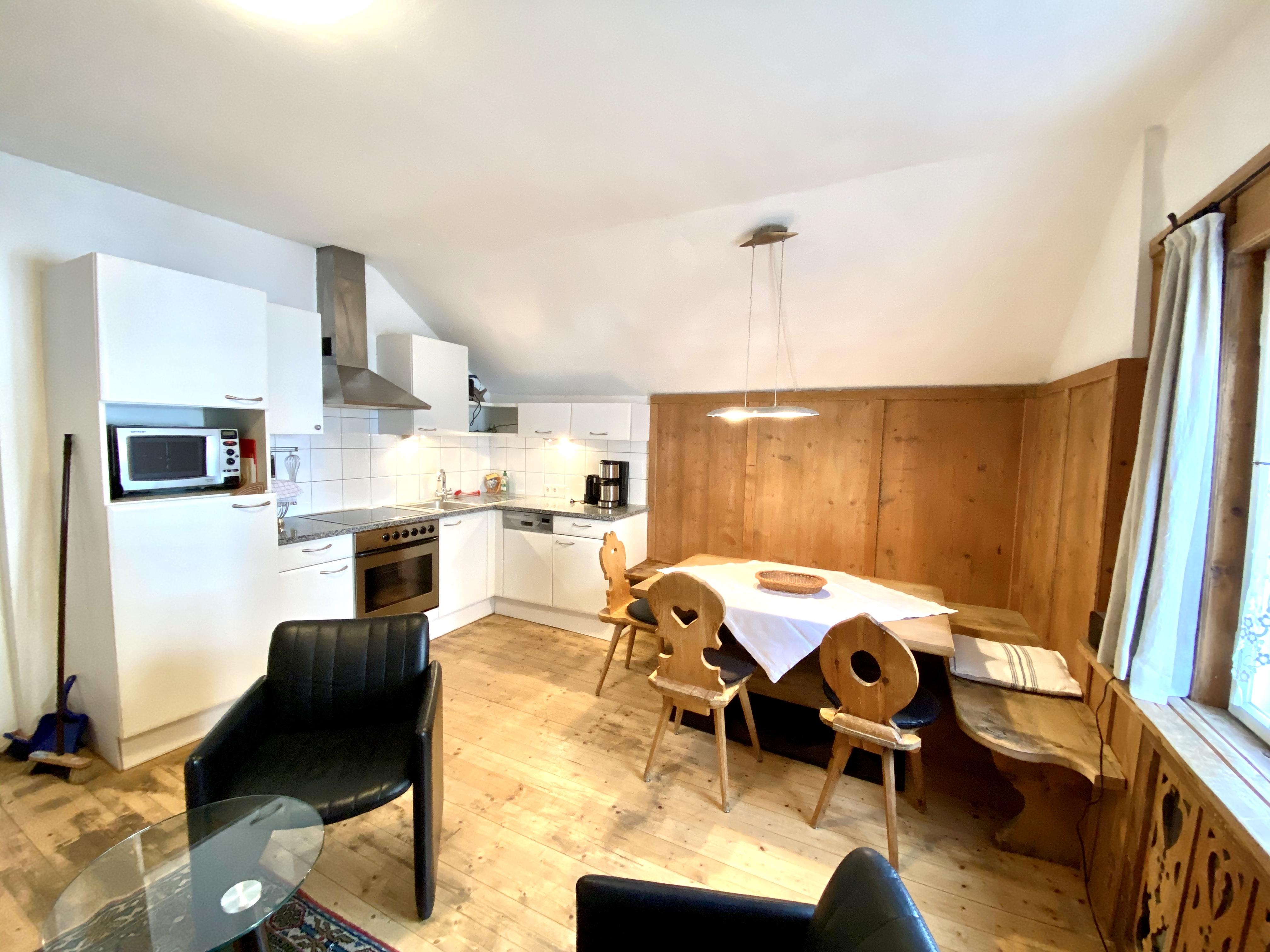 Schlick Wohn und Küche