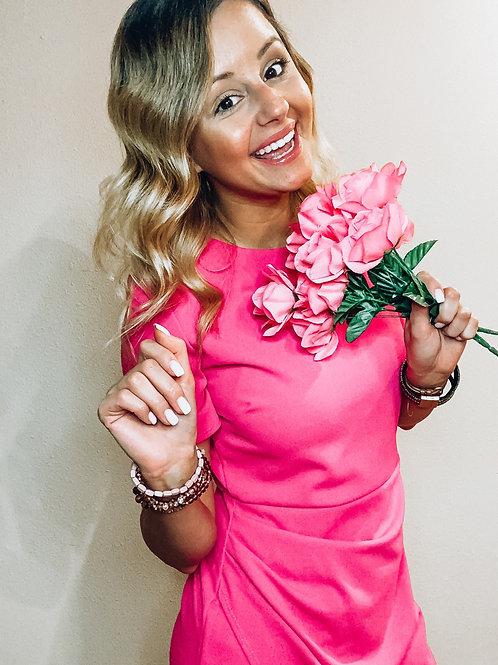 Lollipop Pink Dress