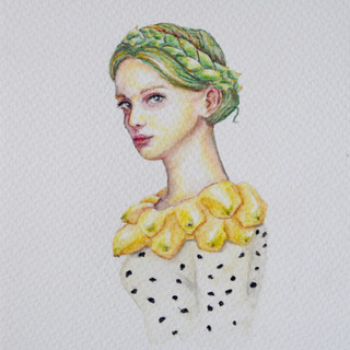 Serie Chachafrutas: Chica Pitaya