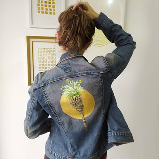 Serie Botánica: Frailejón con sol