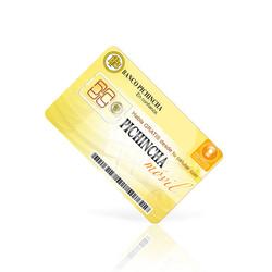 Tarjeta Banco Pichincha