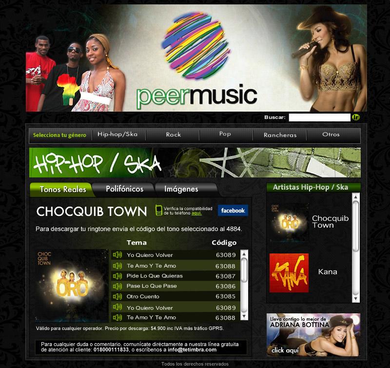 Peer Music COlombia