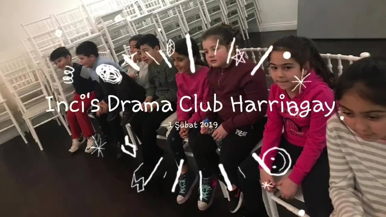 """Inci's Drama Club'da bu hafta, etkin iletişim ile ilgili çalışmalarla başladık. """"Birbirimizi ne kadar dinliyoruz? Ne söylüyoruz ne anlaşılıyor? Konuşurken, cevap verirken birbirimize ne kadar saygılıyız?"""" İste tüm bu soruların cevabı 12 kişi bir küçü"""