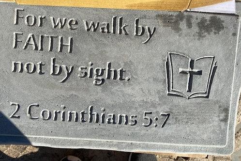 Corinthians 5:7 Bench Top