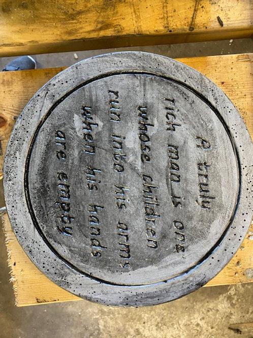 Round Verse Stone