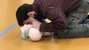 Adult and scout CPR training