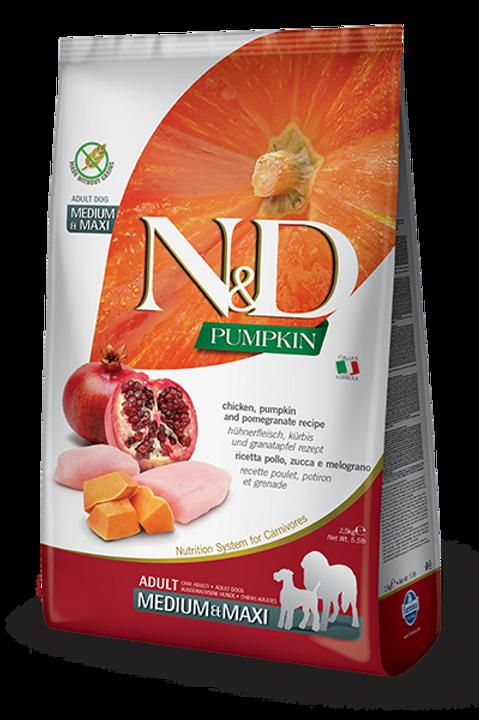 N&D CHICKEN AND POMEGRANATE ADULT MEDIUM & MAXI