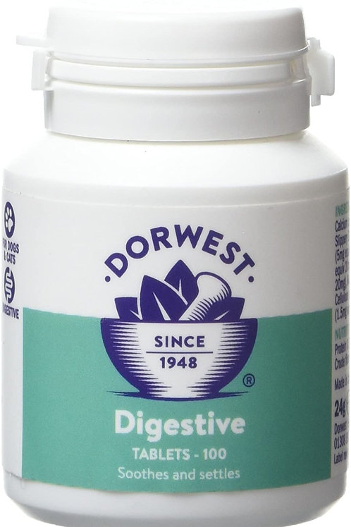 DORWEST HERBS Digestive Supplement Tablets for Dogs and Cats Tablets