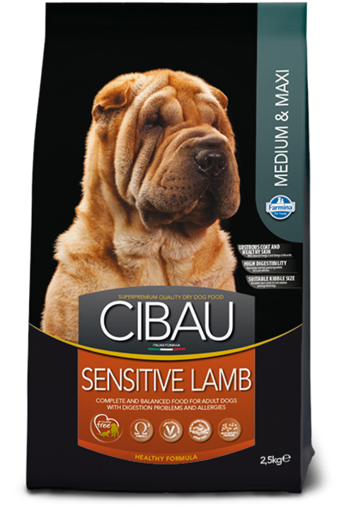 Cibau Adult Lamb Medium & Maxi breeds