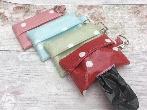 Oil cloth poo bags